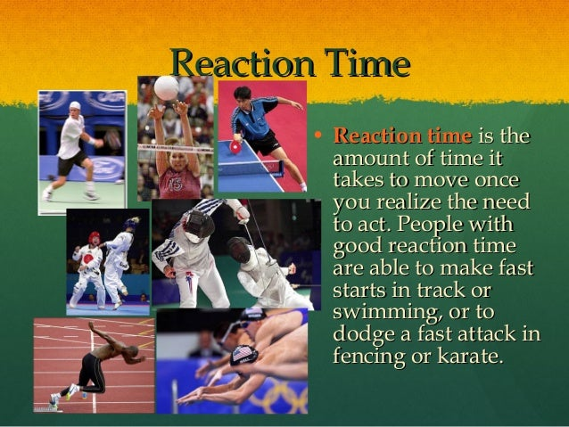 sports drinks and reaction time By: graham atkinson and stephanie egan for information about this page.