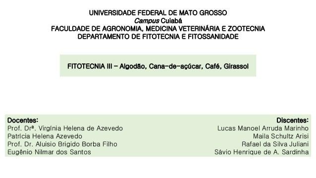 Discentes: Lucas Manoel Arruda Marinho Maila Schultz Arisi Rafael da Silva Juliani Sávio Henrique de A. Sardinha UNIVERSID...