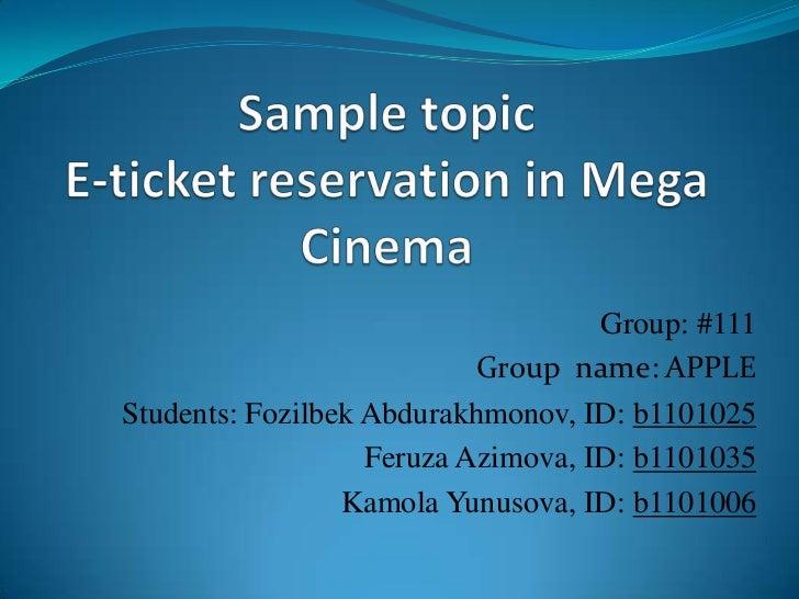 Group: #111                           Group name: APPLEStudents: Fozilbek Abdurakhmonov, ID: b1101025                   Fe...