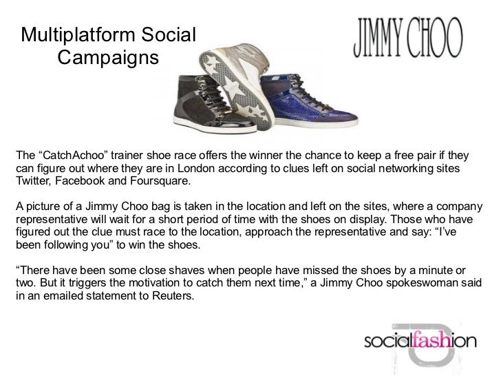 """Multiplatform Social    CampaignsThe """"CatchAchoo"""" trainer shoe race offers the winner the chance to keep a free pair if th..."""