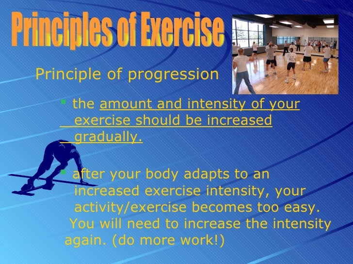 Training Principles Of Exercise