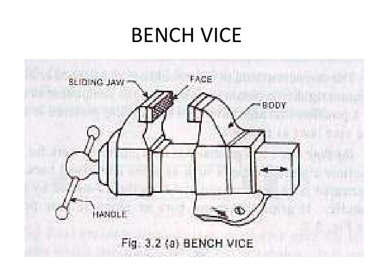 bench clamp diagram