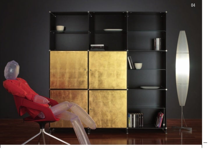 Fitting librerie componibili bookcases solutions 2010