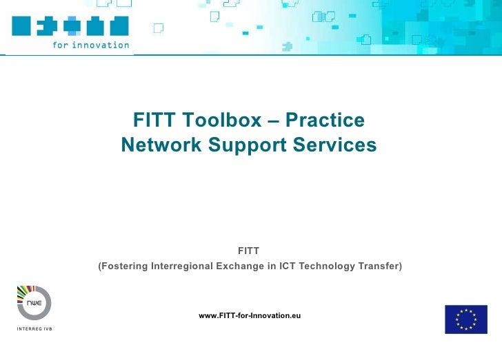 FITT  (Fostering Interregional Exchange in ICT Technology Transfer)