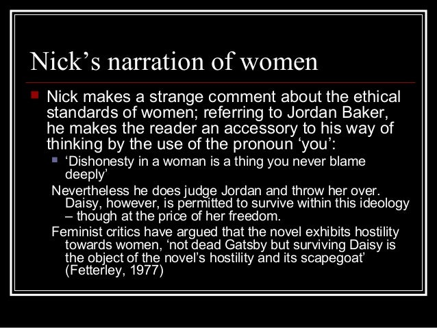feminism in the great gatsby