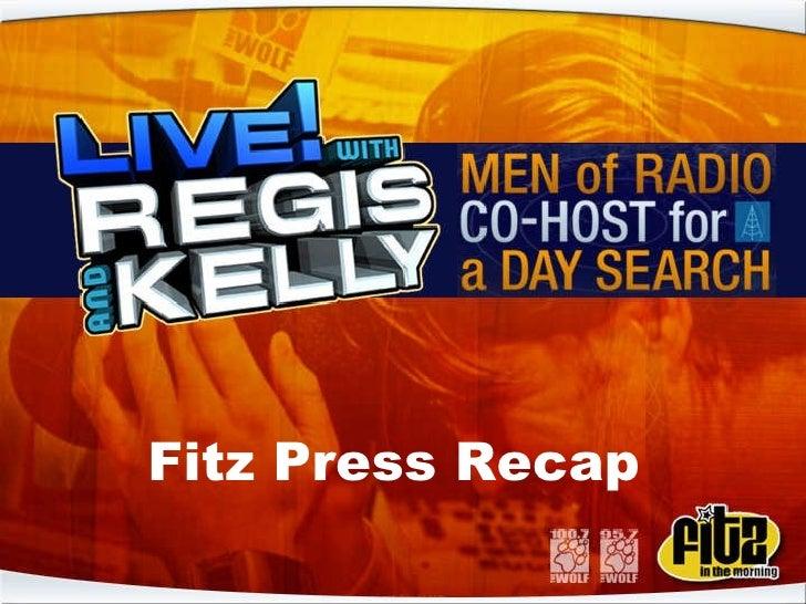 Fitz Press Recap