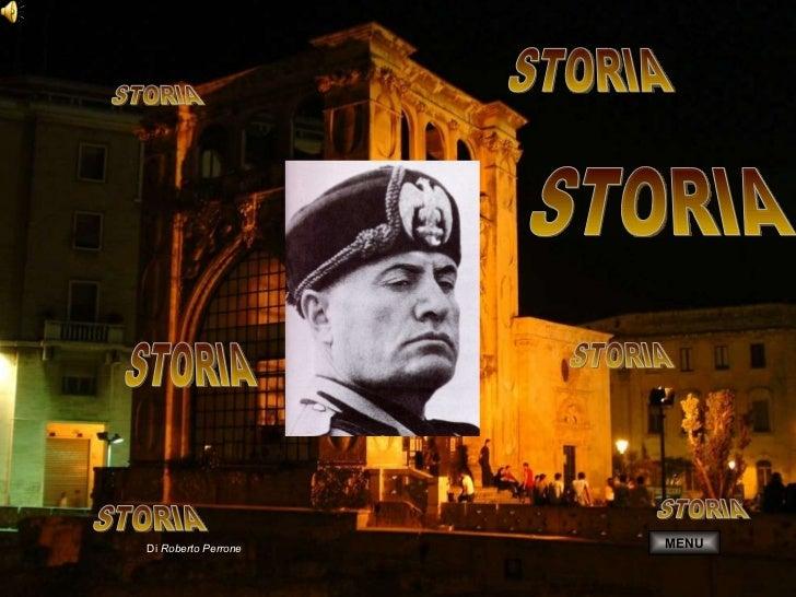 STORIA Di  Roberto Perrone STORIA STORIA STORIA STORIA STORIA STORIA MENU