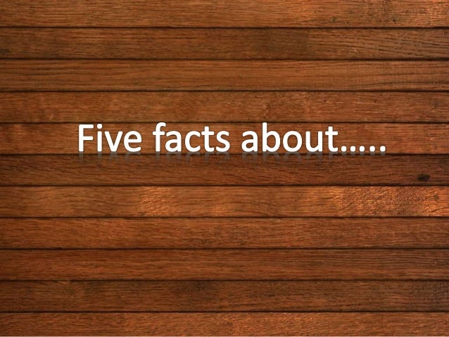 Five facts final