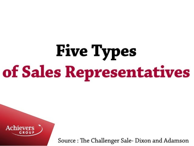 The best form of Sales Person for complex sales in the new economy