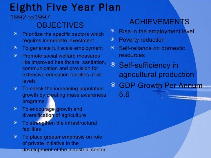 five year plans of india Firts five year plan: the first indian prime minister, jawaharlal nehru presented the first five year plan to the parliament of india and.