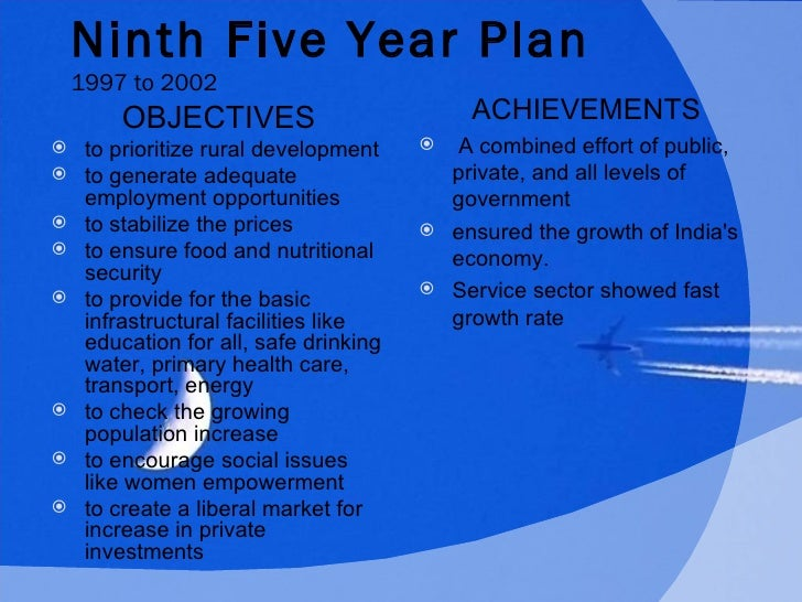 the five year plans What does five year plans mean in  a five-year plan may state the methods and the amount of development that should be experienced by the industrial sector by.
