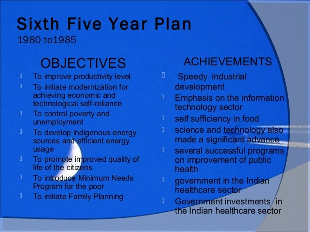 indias tenth five year plans achievements Following on the success of the energy intensity target of the 11th five year plan and in support of the 2020 target to reduce carbon intensity by 40-45% below 2005 levels, the state council set forth new intensity targets for the 12th five year plan (2011-2015) under the new targets, energy.