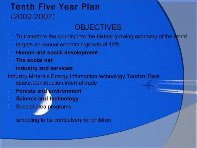 indias tenth five year plans achievements Following on the success of the energy intensity target of the 11th five year plan and in support of the 2020 target to reduce carbon intensity by 40-45% below 2005 levels, the state council set forth new intensity targets for the 12th five year plan (2011-2015.