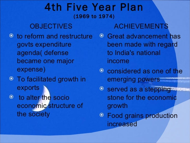 5 year plan objectives