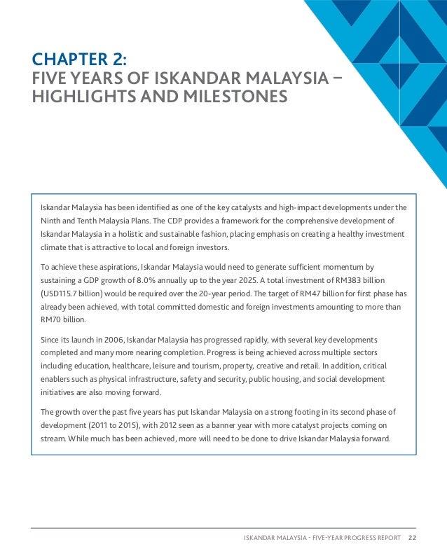 Five year progress report iskandar iskandar malaysia five year progress report 23 malvernweather Gallery