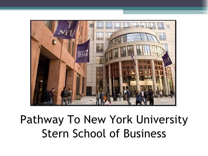 New york university fashion business plan