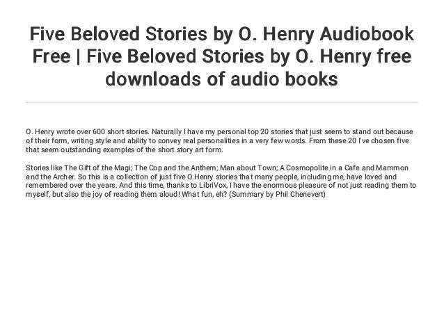 how many books did o henry wrote