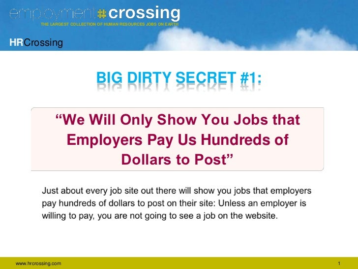 5 Secrets that Job Sites Don't Want You to Know Slide 2