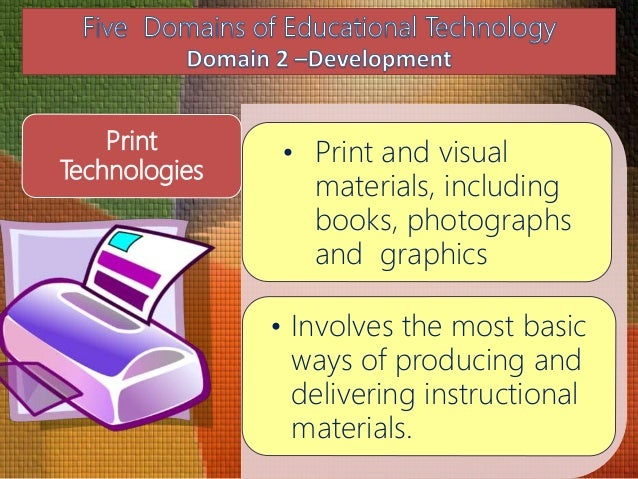 Five Domains Of Educational Technology
