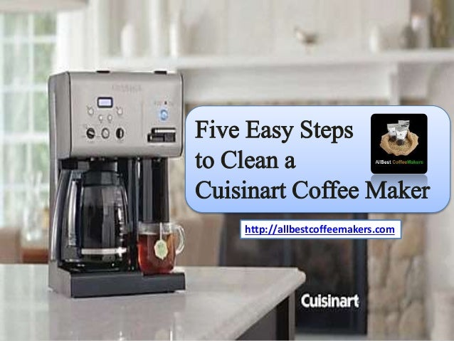 Cleaning Your Coffee Maker With Bleach : How To Clean Burned Coffee From A Coffee Pot Thesimplehomemaker Com How To Clean A Coffee Pot ...