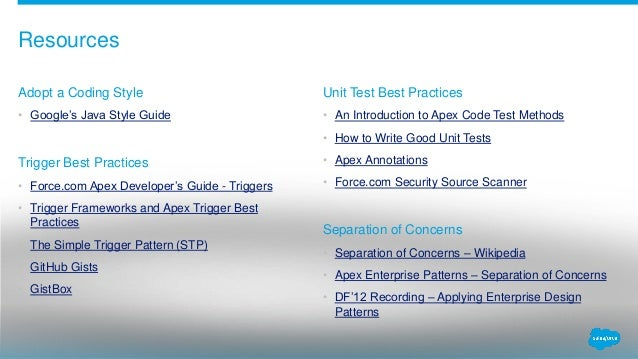five enterprise best practices that every salesforce org can use df1 rh slideshare net