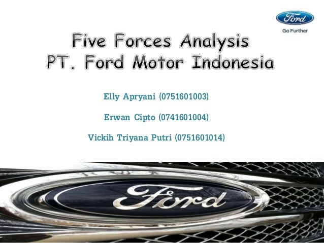 ford motor company five forces analysis