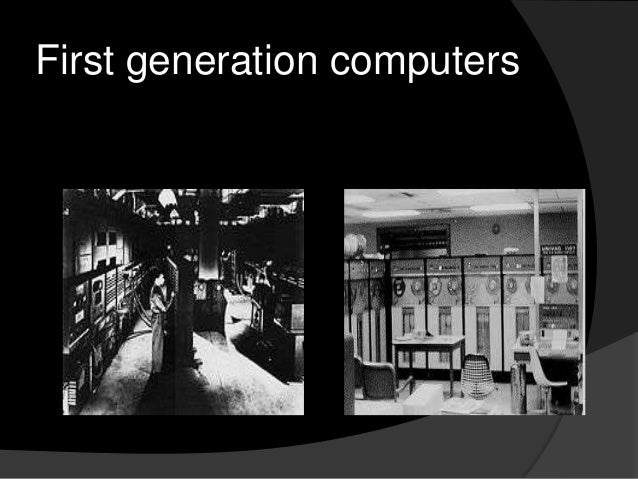 the five generations of computer The first generation of computers is said by some to have started in 1946 with eniac, the first 'computer' to use electronic valves (ie vacuum tubes.