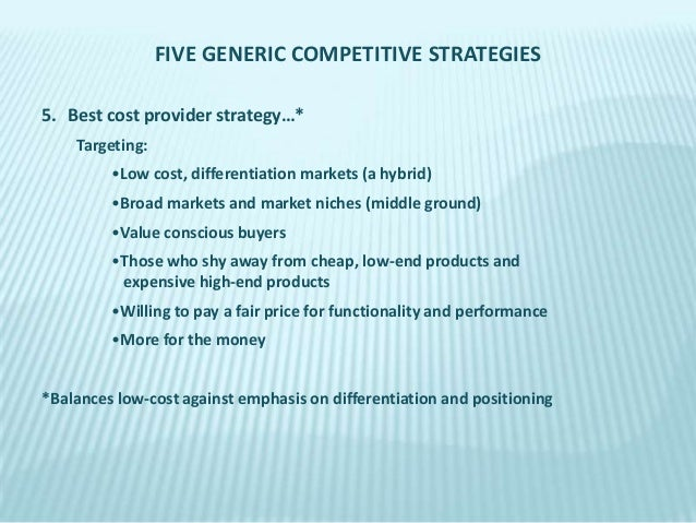 best buy low cost provider differentiation or best cost strategy Being a low-cost provider is a basic business strategy it is the straightforward strategy of selling at a lower price than your competitors but even such a basic.