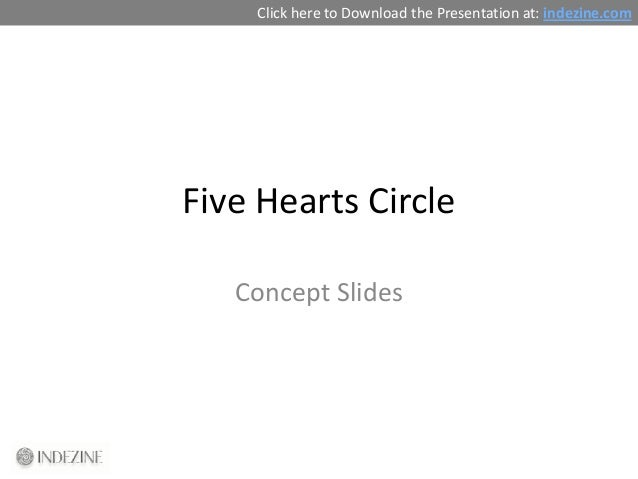 Concept Slides: Five Hearts Circle