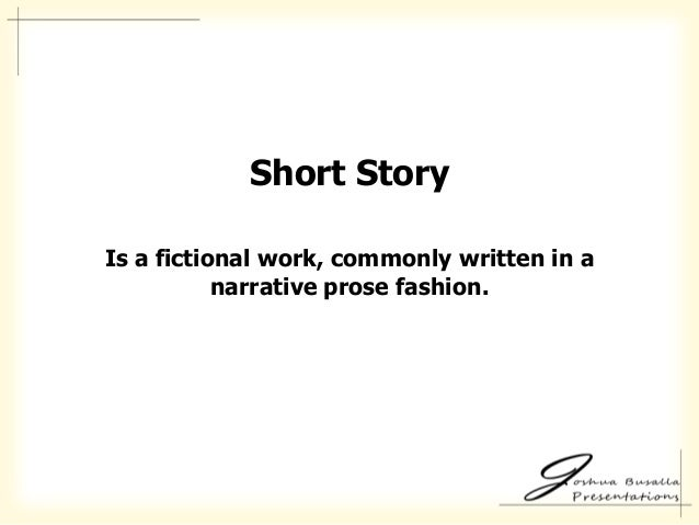 5 important elements of a short story essay Ernest hemingway's stories essay  literary elements in the story of an hour in  elements used in this short story but i believe the most important one is.