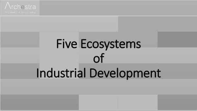 Five Ecosystems of Industrial Development
