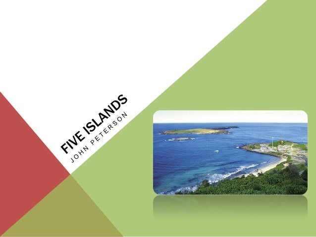 FIVE ISLANDS  Tonal idioms  Continuous music with fast tempos and layered repeated figures  Complex metres such as 13/8...