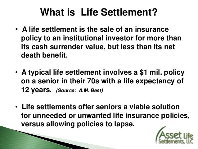 Life Settlements Are An Effective Estate Planning Tool Slide 3