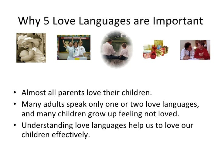 The Five Love Languages Of Children 2