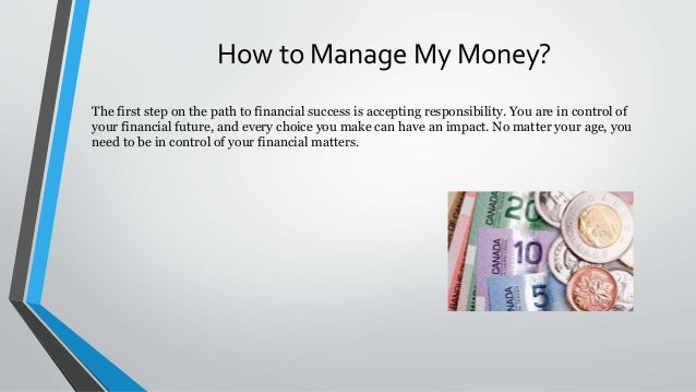 Five money management tips