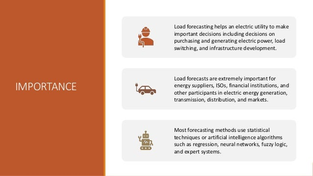 IMPORTANCE Load forecasting helps an electric utility to make important decisions including decisions on purchasing and ge...