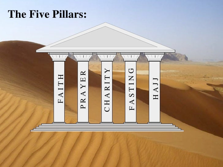 essay on 5 pillars of islam A marine dad doesn't want his daughter learning about islam in school  three- page essay about islam's five pillars, mecca, and mohammed.