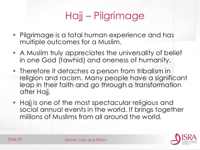 the spiritual experience of the hajj an annual worldwide pilgrimage to the kaba Journey alongside american pilgrims to the largest annual gathering of muslim in the world their experiences on the hajj with change and spiritual.