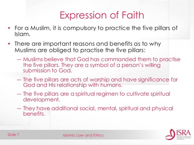 the five pillars of islam essay Five pillars of islam the central belief in islam is the conviction in the sovereignty of one god who is omnipotent - five pillars of islam introduction god's fundamental functions are creation, guidance, judgment, and sustenance.