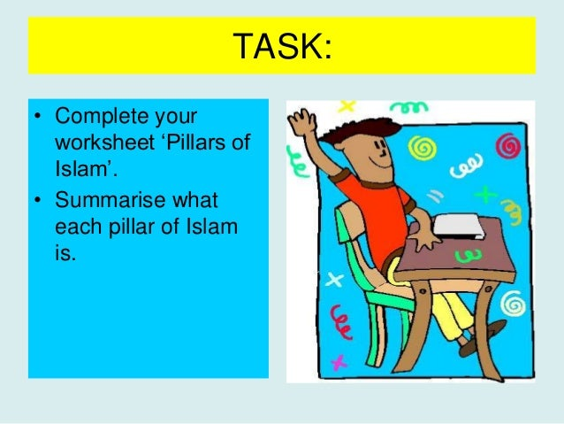 Five pillars yr8 – 5 Pillars of Islam Worksheet