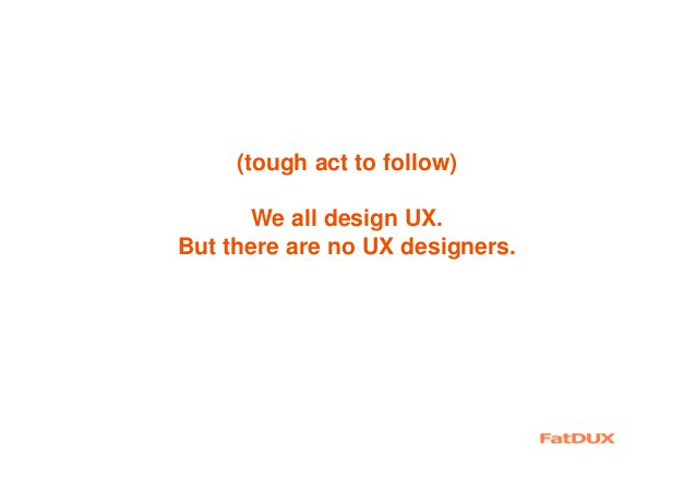 Nota bene Most companies examine UX when all the tried- and-true options have failed Most companies ignore UX because the ...