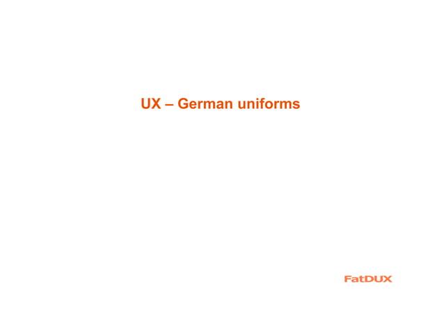 UX – backbone of an entire industry