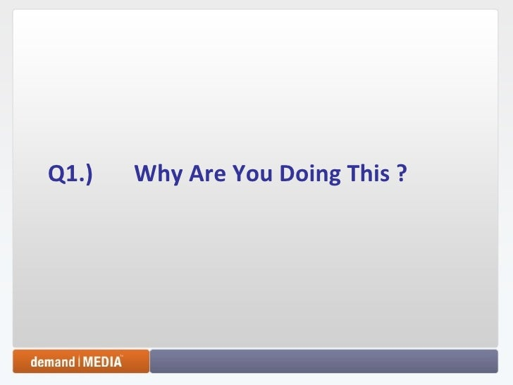 Five Questions You Must Answer Today   Richard Rosenblatt   Startonomics La 2009 Slide 2