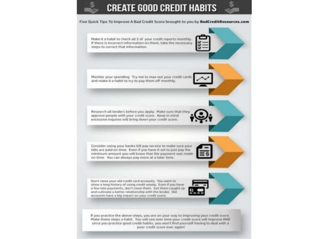 How quickly can you improve a bad credit score