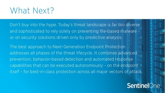 Five Reasons to Look Beyond Math-based Next-Gen Antivirus