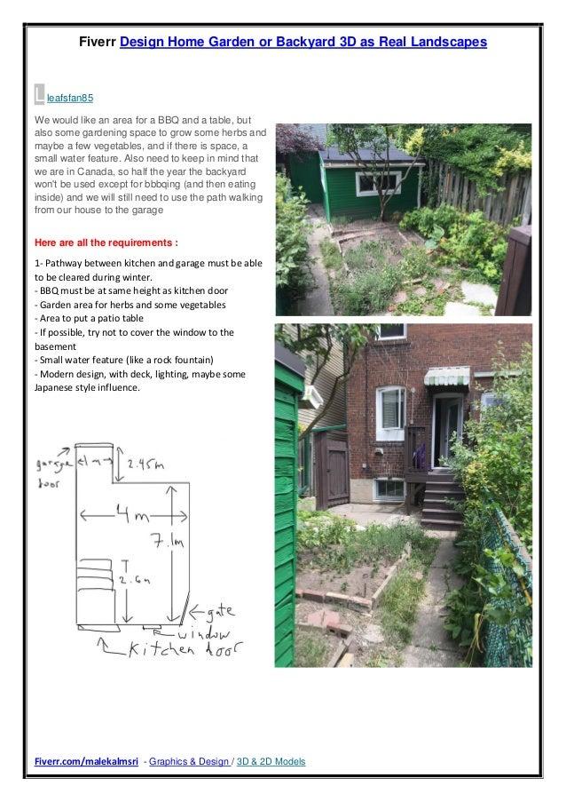 Garden Design - Japanese style influence - Fiverr Malekalmsri