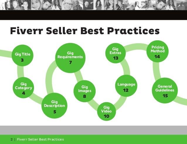 Fiverr Seller Best Practices Slide 2