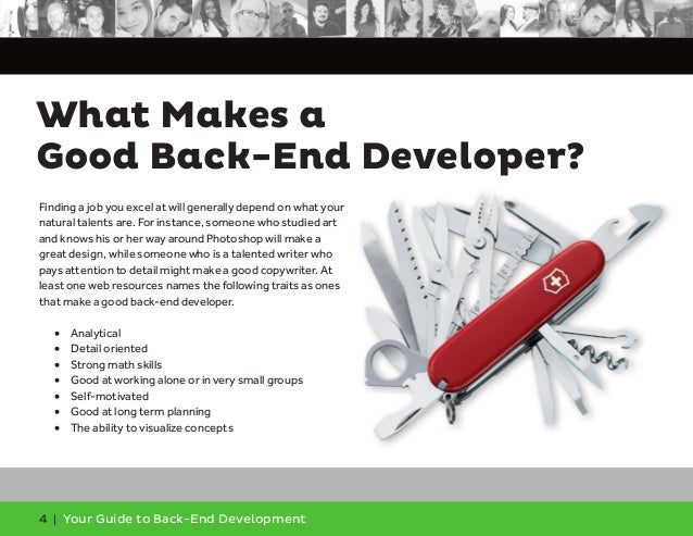 Your Guide to Back-End Development