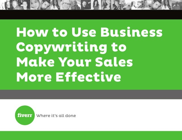 How to Use Business Copywriting to Make Your Sales More Effective