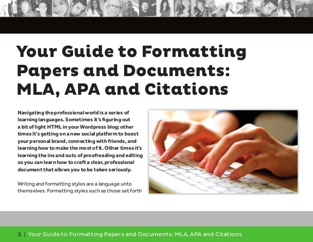ala formatting